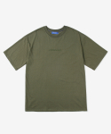 레이어 유니온(LAYER UNION) PARADISE S/S TEE KHAKI