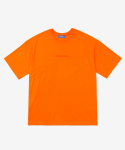 레이어 유니온(LAYER UNION) PARADISE S/S TEE ORANGE