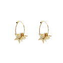 트레쥬(TREAJU) triple star earring