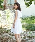 러브미백(LOVE ME BACK) COTTON WING DRESS