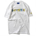 라파예트(LAFAYETTE) 라파예트 Lafayette ×GHICA POPA - VEHICLE LOGO TEE WHITE