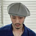 (Rayon gingham check 3pack)- CLASSIC BIG APPLE HAT