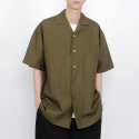 로우 투 로우() nomad cotton short sleeve shirts(olive)