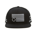 블랙스케일(BLACK SCALE) BLACK SCALE Protect Rebels Snapback Black