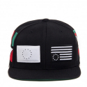 블랙스케일(BLACK SCALE) BLACK SCALE Pandemic Snapback Black