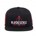블랙스케일(BLACK SCALE) BLACK SCALE Team Blvck Snapback Black