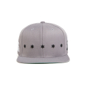 블랙스케일(BLACK SCALE) BLACK SCALE Star Spangle Snap Back GREY