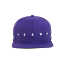 블랙스케일(BLACK SCALE) BLACK SCALE Star Spangle Snap Back PURPLE