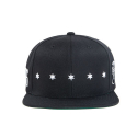 블랙스케일(BLACK SCALE) BLACK SCALE Star Spangle Snap Back BLACK