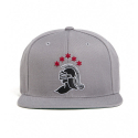 블랙스케일(BLACK SCALE) BLACK SCALE Knight Logo Snap Back Grey