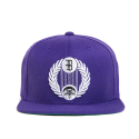 블랙스케일(BLACK SCALE) BLACK SCALE Star Crescent Snap Back Purple