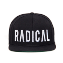 블랙스케일(BLACK SCALE) JT&CO x BS Radical Snapback Black