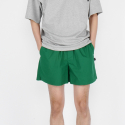 로우 투 로우(RAW TO RAW) FINE COTTON HOME SHORTS(GREEN)