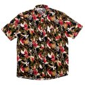 굿펠라즈(GOODFELLAS) Aloha Shirt Navy