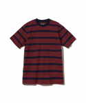랏츠(RATS) RATS / MULTI BORDER POCKET T-SHIRT / RED