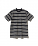 랏츠(RATS) RATS / MULTI BORDER POCKET T-SHIRT / NAVY