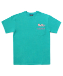 아임낫어휴먼비잉(I AM NOT A HUMAN BEING) [PPXHB] Pink Panther Poket T-Shirt - Emerald