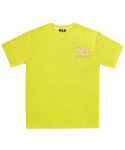 아임낫어휴먼비잉(I AM NOT A HUMAN BEING) [PPXHB] Pink Panther Poket T-Shirt - Green Yellow