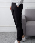 소소라이프(SOSOLIFE) Basic Cotton Pants - BLACK