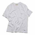 프랭크 도미닉(FRANK DOMINIC) SHARK ICON POKET T-SHIRT(WHITE)