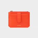 살랑(SALRANG) Dijon 301S Flap mini Card Wallet coral orange