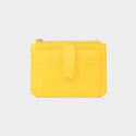 살랑(SALRANG) Dijon 301S Flap mini Card Wallet lemon yellow