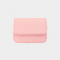 살랑(SALRANG) Dijon 301R Round Card Wallet light pink