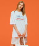 시에스타(SIESTA) SLEEP TIGHT HALF T [WHITE]