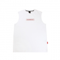 캉골(KANGOL) Needlepoint Sleeveless 3104 WHITE