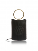 아라크나인(ARAC.9) NUBI-LOGO CLUTCH-black