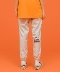 LIKE A SIESTA JOGGER PANTS [WHITE]