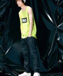 피스피스(PIECEPEACE) BOX END RUNNING SLEEVELESS LIME