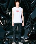 피스피스(PIECEPEACE) ECLAT BASIC SLEEVELESS WHITE