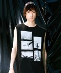 피스피스(PIECEPEACE) AFTER1201 OVERSIZED SLEEVELESS BLACK