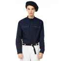S7a04002 - Pocket Eyelet Point Shirt [Navy]