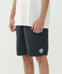 인사일런스(INSILENCE) Emblem Lounge Shorts (Black)