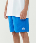 인사일런스(INSILENCE) Emblem Lounge Shorts (Blue)