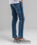 FADIC SIDE WASHING CROP JEAN - OCEAN BLUE
