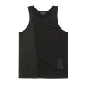 블랙스케일(BLACK SCALE) BLACKSCALE Split Mesh Tank Top Black