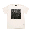 블랙스케일(BLACK SCALE) BLACKSCALE Black Parallel T-Shirt White