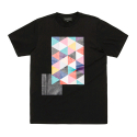 블랙스케일(BLACK SCALE) BLACKSCALE Tri Vision T-Shirt Black