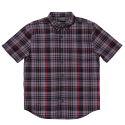 블랙스케일(BLACK SCALE) BLACKSCALE Signature Plaid Short Sleeve Button Down Black