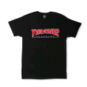 쓰레셔(THRASHER) THRASHER OUTLINED (BLACK)