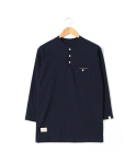 헨더(HANDER) GLORIOUS HENRY T-SHIRTS [NAVY]