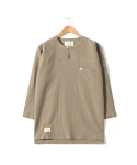 DIVIDE TUNIC SHIRTS [BEIGE]