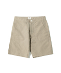 헨더(HANDER) COTTON LINEN FATIGUE SHORTS [BEIGE]