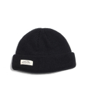 티엔피() 숏비니 WH LABEL WATCH CAP - BLACK