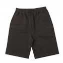 스투시() [스투시] STUSSY STOCK FLEECE SHORT (LIGHT BLACK) [112200-LBLK]