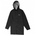 스투시(STUSSY) [스투시] STUSSY SUMMER LONG HOODED COACH JKT (BLACK) [115339-BLAC]
