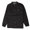 스투시() [스투시] STUSSY SUMMER COACH JACKET (BLACK) [115340-BLAC]